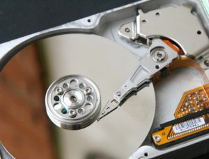 And open Seagate hard drive