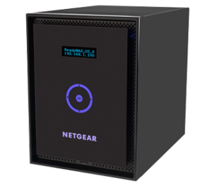 NetGear ReadyNas hard drives and servers